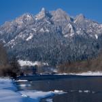 Dunajec Zimą