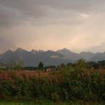 Widok na Czarną Górę, Tatry