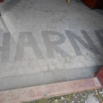 Ośrodek i okolica – Altana grill napis